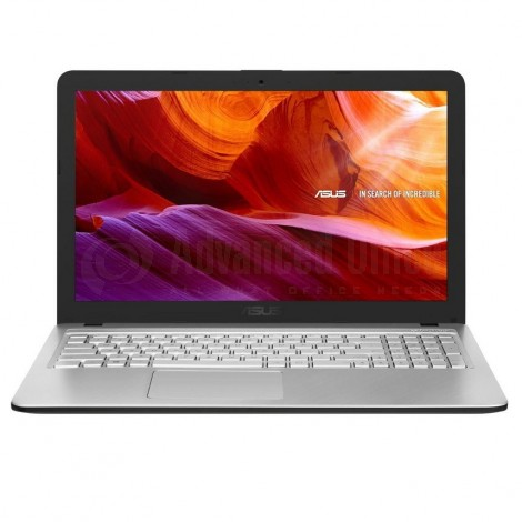 "Laptop ASUS VivoBook  X543UA-GQ1401T, Intel Core i3-7020U, 4Go DDR4, 1To, DVD-RW, 15.6"", Windows 10, Silver transparent"