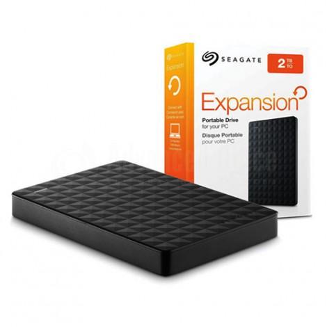 """Disque dur externe SEAGATE Expansion, 2To, USB 3.0, 2.5"""", Noir"""