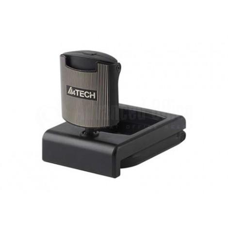 Webcam A4TECH, 16MP, Microphone, Noir