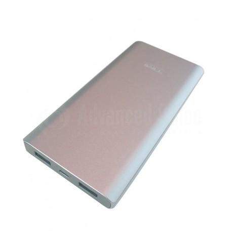 Power Bank TIMI Metal Shell T003, 10 000 Mah, 2 USB, Micro USB, Gris
