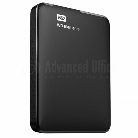 "Disque Dur Externe WESTERN DIGITAL Elements 1To,  2.5"", USB 3.0, Noir"