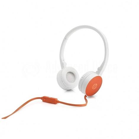 Casque microphone HP H2800 Orange