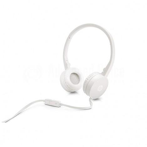 Casque microphone HP H2800 Blanc