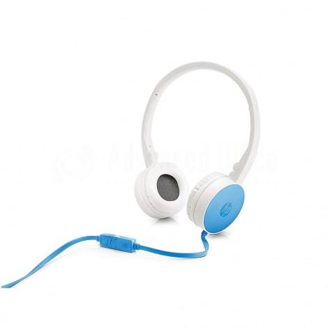 Casque microphone HP H2800 Bleu clair