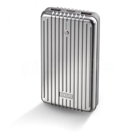 Power Bank ZENDURE A5 16 750 mAh 3.7V/62.0Wh, 2 USB 5V/2.1A avec câble Micro USB, Gris