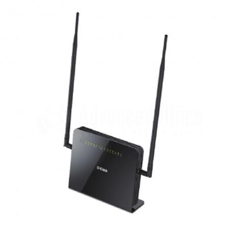 Modem Routeur VDSL2/ADSL2+ sans fil D-LINK AC1200, 3G/4G LTE, 1200Mps, 4 port LAN Gigabit, 2 Ports FXP VOIP, Port WAN, Port USB 2.0/3.0, 2 antennes détachables