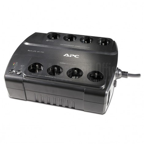 Onduleur APC Back-UPS ES 700VA, 8 sorties CEE 7/5, 230V/405W