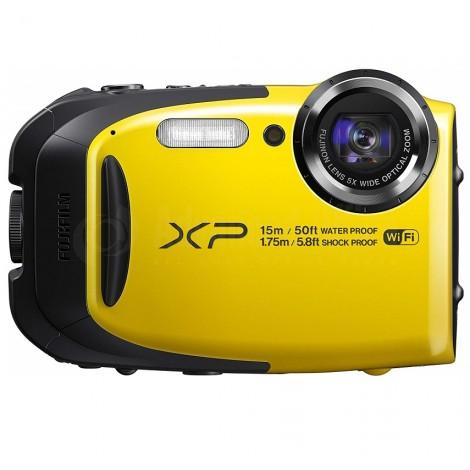 Appareil photo numérique FUJIFILM Finepix XP120 16.4 MP, Wifi, Waterproof, Zoom Optique 5x, Jaune