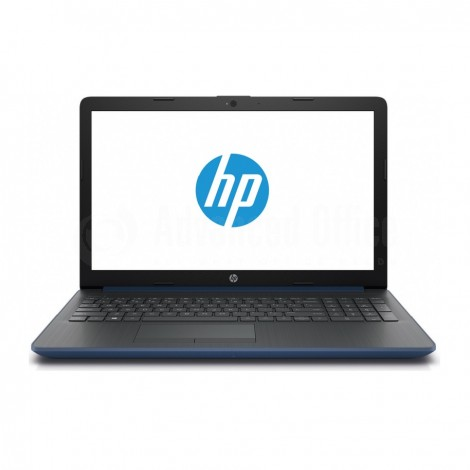 "Laptop HP Notebook 15-da0002nk,  Intel Celeron  N4000, 1To, 4Go, 15.6"", FreeDos, Bleu"