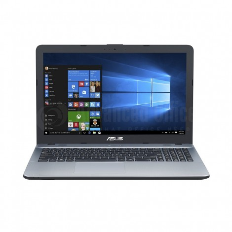 "Laptop ASUS VivoBook D540YA-XX556D, AMD Dual-Core E1-2500 APU, 4Go, 500Go, DVD-RW, 15.6"", FreeDos, Silver Gradient"