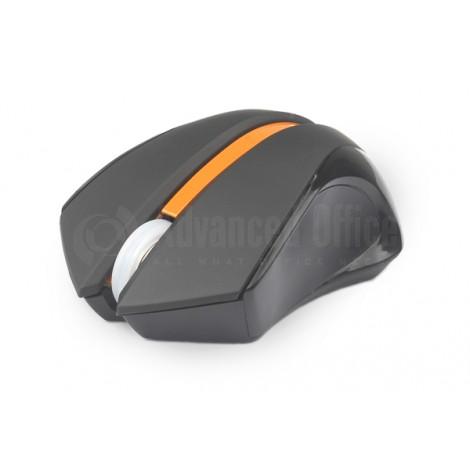 Souris sans fil A4TECH V-track Bluetooth Noir+Orange