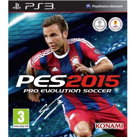 Jeu PES 2015 pour Playstation 3