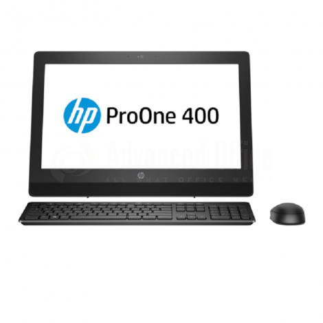 "Ordinateur All In One HP 20-c004nk, Intel Core i3-6100U, 4Go DDR4, 1To, DVD-RW, Lecture carte 3en1, Ethernet, Wifi, Bluetooth 4.0, 19.5"", FreeDos, Blanc"