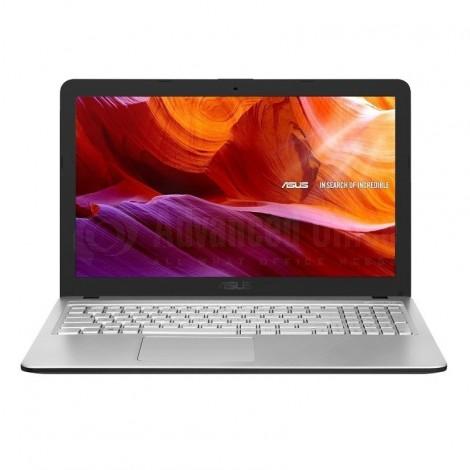 "Laptop ASUS VivoBook  X543MA-GQ509T, Intel Celeron Dual-Core N4000, 4Go DDR4, 1To, DVD-RW, 15.6"", Windows 10, Silver transparent"