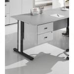Caisson suspendu ECOMOD/SOLE ECO 2 tiroirs Made in Italy Noce