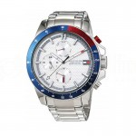 Montre Homme TOMMY HILFIGER Jace Bracelet Argenté Advanced Office