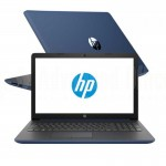 "Laptop HP Notebook 15-da0002nk, Intel Celeron N4000, 1To, 4Go, 15.6"", FreeDos, Bleu  -  Advanced Office"