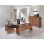 Arrondi de bureau SOLE ECO 180° Made in Italy Noir  -  Advanced Office Algérie