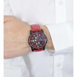 Montre chronographe pour Hommes FESTINA F20339 Bracelet en cuir Rouge - ADVANCED OFFICE