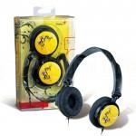 Casque microphone GENIUS HS-410F Jaune  -  Advanced Office