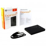 "Disque dur externe SEAGATE Expansion, 2To, USB 3.0, 2.5"", Noir  -  Advanced Office Algérie"