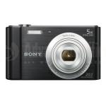 Appareil photo numérique SONY CyberShot W800 20.1Mp, Zoom Optique 5x, Noir  -  Advanced Office Algérie