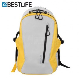 "Sac à dos porte PC BESTLIFE BLB-3010Y 15.6"" Gris clair/ Jaune  -  Advanced Office"