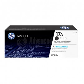 Toner HP 17A Noir pour LaserJet Pro M102  -  Advanced Office