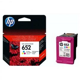 Cartouche HP 652 Couleurs pour DeskJet 1115/ 2135/3635/ 3835/ 4535/ 4675, Advanced Office