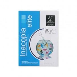 Rame de papier Extra blanc INACOPIA elite A4 80g/m²  -  Advanced Office