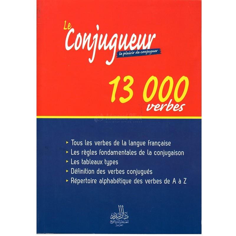 Livre Dar Elbadr Le Conjugueur Le Plailsie De Conjuguer 13 000 Verbes All What Office Needs