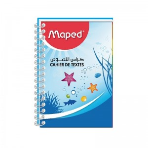 Note Book à spirale MAPED A4 70g Seyes 192 Pages
