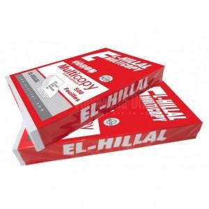Rame de papier HILLAL A3 80g Rouge 1er choix extra blanc