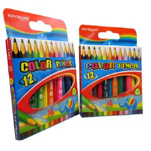 Boite de 12 crayons de couleur KEYROAD PM