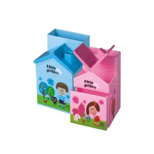 Porte stylo DELI enfant forme maison  -  Advanced Office