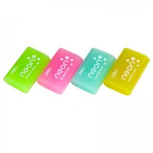 Gomme scolaire DELI H010 00 Neon Multi couleurs