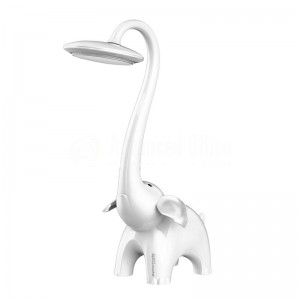 Lampe de bureau enfant PROMATE Snorky, Touch contrôle, LED 350Lum 60W, 5V/350mA, Blanc  -  Advanced Office