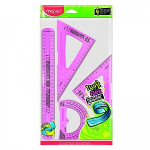Kit traçage Flexible MAPED Twist'n flex the original 4 pcs   -  Advanced Office