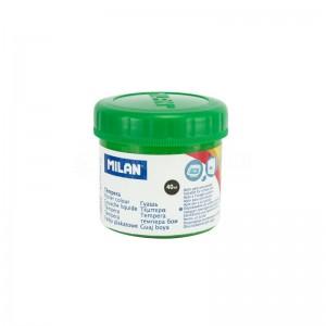 Pot de Peinture Gouache MILAN 40ml Vert clair