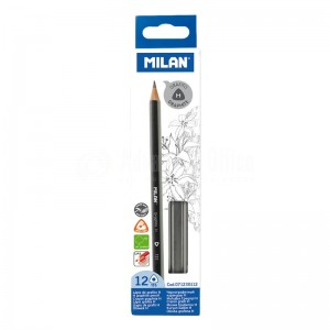 image. Crayon MILAN 133 Graphite H Triangulaire  -  Advanced Office