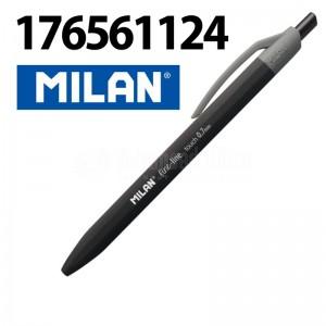 image. Stylo à bill MILAN fine-line touch 0.7mm Rétractable Noir  -  Advanced Office