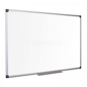 Tableau blanc magnétique mural laqué 150x100cm VERSAL