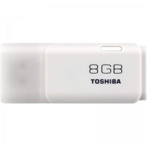 image. Flash Disque TOSHIBA TransMemory U202 8Go USB 2.0 Blanc  -  Advanced Office