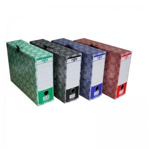 Boite d'archive en carton 800g FABS Multi couleur