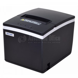 image. Imprimante de Ticket XPRINTER XP-E200L Thermique, USB, LAN, Serie RS232, Noir  -  Advanced Office Algérie