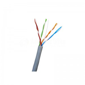 Câble réseau D-LINK Cat 6 FTP 24 AWG Round Patch Cord,Touret de 305M, Gris  -  Advanced Office