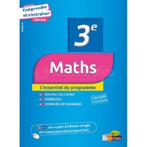 Livre BORDAS Comprendre et s'entrainer Maths 3e  -  Advanced Office Algérie