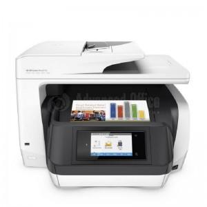 Multifonction HP OfficeJet Pro 8720, Couleur, A4, 37ppm/20ppm, USB, Réseau, RJ-11, Wifi, Recto-Verso, Fax, Chargeur de document