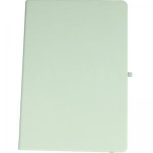 Note book A4 175 x 260mm, 200 pages couverture PU Blanc avec Boucle pour stylo  -  Advanced Office Algérie