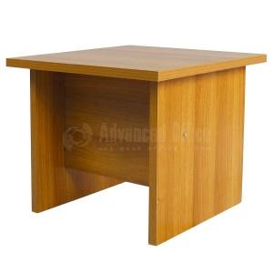 Table basse ECOMOD 0.50 x 0.50m Noce  -  Advanced Office Algérie